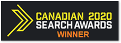 Gagnant du Canadian Search Awards 2020