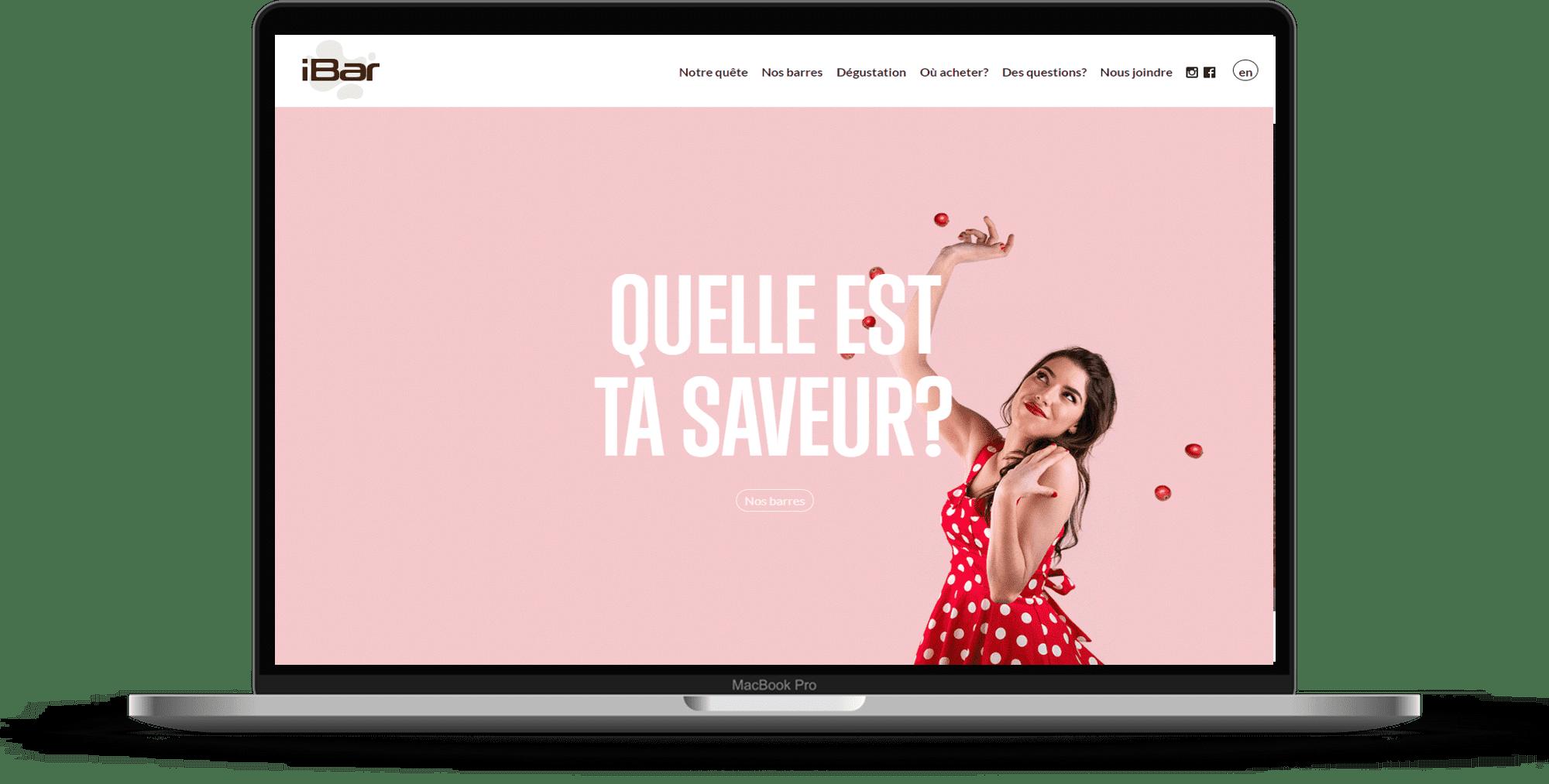 iBar ordinateur site web
