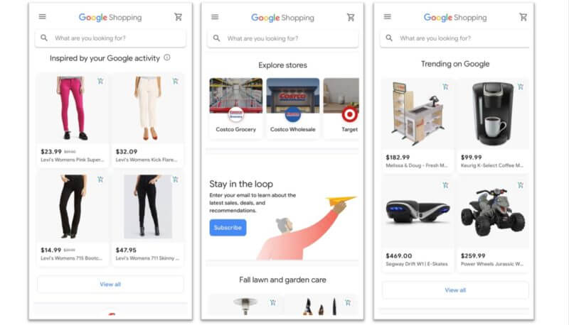 google-shopping-store